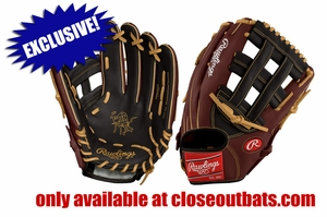 """Rawlings Heart of the Hide 12.75"""" Outfield Glove PRO3039-6BGR (2017)"""