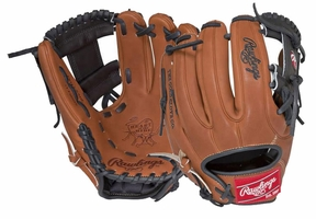"Rawlings Heart of the Hide Series 11.75"" Narrow Fit 31 Pattern Baseball Glove PRO315-2GBB"