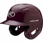 Rawlings Maroon Adult Coolflo Batting Helmet CFABHN