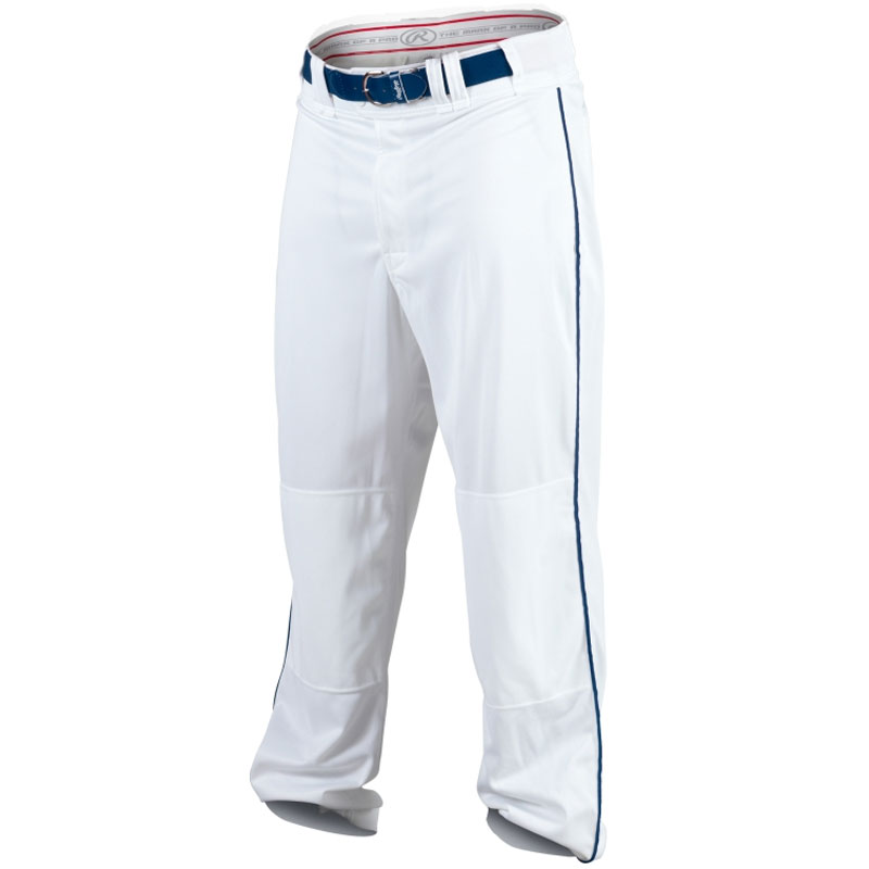 Rawlings Men's White/Navy Premium Plated 1/8