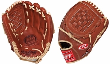"Rawlings Pro Preferred  Oil Stain in Palm Infield/Outfield Glove 12"" PROS20BR"