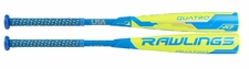"Rawlings Quatro 2-5/8"" Youth USA Bat US8Q10 -10oz (2018)"
