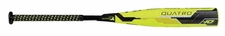 "Rawlings Quatro 2-3/4"" Big Barrel USSSA Bat UT8Q34 -10oz (2018)"