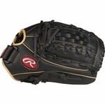 "Rawlings Shut Out 12.5"" Outfield Softball Glove RSO125BCC (2018)"