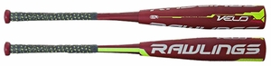 "Rawlings Velo Big Barrel Bat 2-3/4"" Barrel -12oz SL7V12 (2017)"