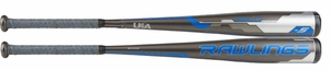 "Rawlings Velo 2-5/8"" Youth USA Bat US8V5 -5oz (2018)"