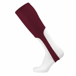 TCK Adult Large Solid Color Maroon Baseball Stirrup