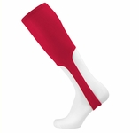 TCK Adult Large Solid Color Scarlet Red Baseball Stirrup