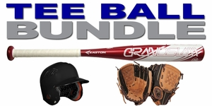 Tee Ball Baseball Bundle