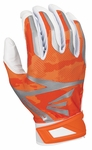 White/Orange Camo Adult Z7 Hyperskin Batting Gloves