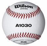 Wilson A1030 Raised Seam Baseball WTA1030B 1dz