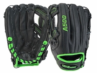 "Wilson A500 Game Soft Youth 11.5"" Infield Glove WTA05RB15SA115G"