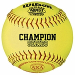 Wilson A9031 12-inch Fastpitch Softball -- 1 dz