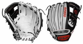 "Wilson Custom A2000 11.5"" Infield Ball Glove 1786 ""White Lighting"" (2017)"