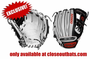 "Wilson Custom A2000 11.5"" Infield Ball Glove 1786 ""White Lighting"" GIDDU8VDGF2 (2017)"