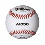 "Wilson 9"" WTA1050B Official League White Baseballs -- 1 DZ"
