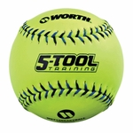 "Worth Sports Pro-Style Reactball 12"" Softball W5REAC"