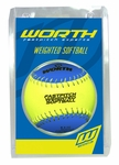 Worth Weighted Training Softball WEIGHTSB