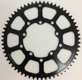 Black CNC 60T Chainring - Brompton Speed Booster!