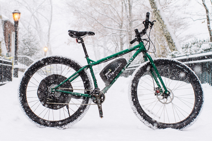 Surly Krampus with Custom Bionx D500 Kit - USED