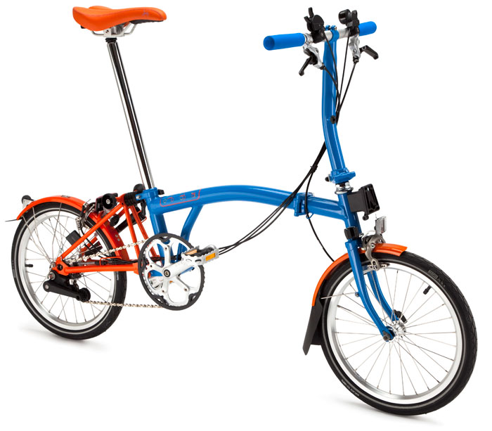 Brompton Barcelona S6L with S-bag (Limited edition)