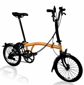 Brompton Black Edition 2017 - Orange M6L