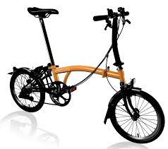 Brompton Black Edition 2017 - Orange S6L