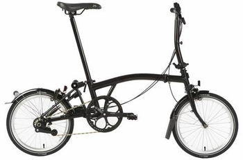 brompton Best compact and portable fold-up bicycle