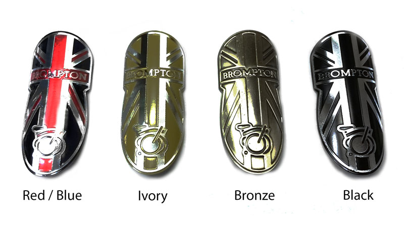 Brompton Headbadge