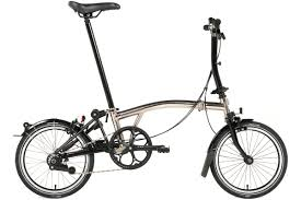 Brompton Nickel Edition M6L, Steel