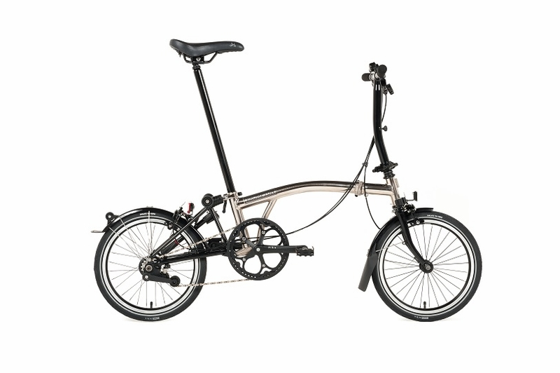 Brompton Nickel Edition S6L Titanium
