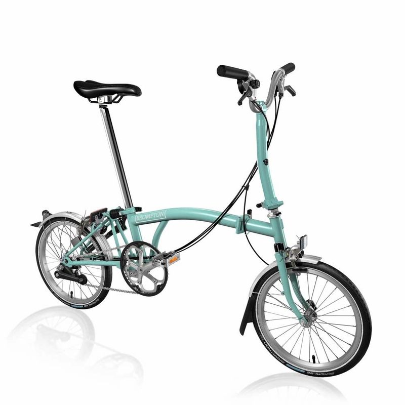 Brompton Turkish Green M6L 2017
