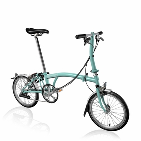 Brompton Turkish Green S6L Standard 2017