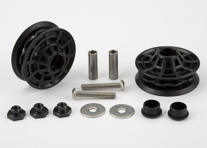 Replacement chain tensioner idlers + fittings only - For DR, Part# QCTIDLDRSET