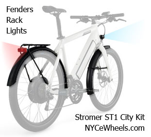 City Kit for ST1 Stromer Bikes