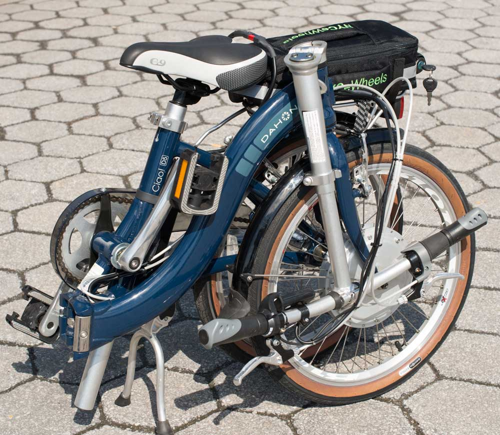 Bionx and dahon the best electric bike conversion for Best electric bike motor
