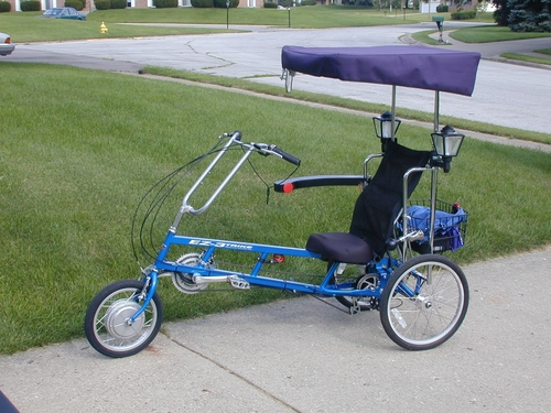 Electric bike conversion kit reviews for Recumbent bike with electric motor