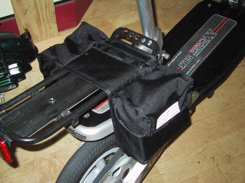Saddle bags / 10 Ah extender battery pack