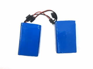 Split Lithium Battery for Brompton folding bikes