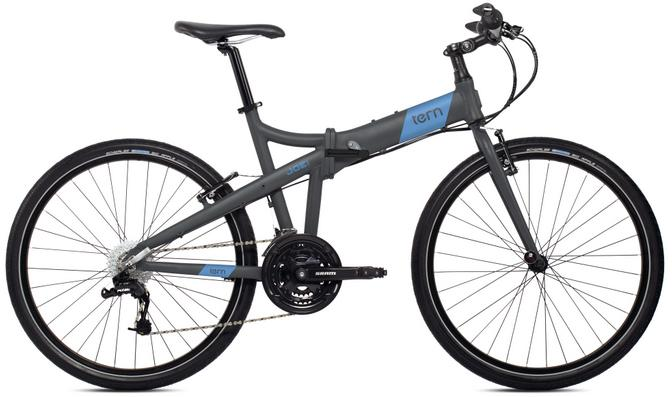 Tern Joe D24, full size folding bike
