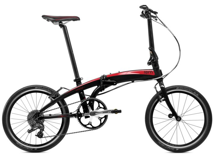 Tern Verge P9 - Simply fast folding bike