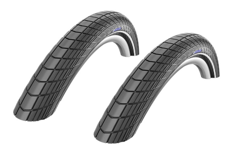 Upgrade to 20x2 Schwalbe Big Apple Tires