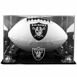Football Case With Raiders Logo - Click to enlarge