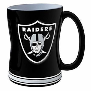 Raiders 14oz Relief Sculpted Mug - Click to enlarge