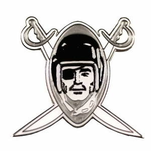 Raiders 1960 Logo Lapel Pin - Click to enlarge