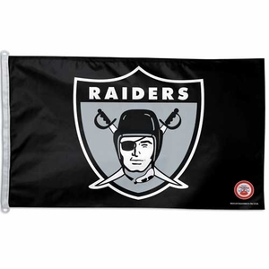 Raiders 1963 3 X 5 Logo Flag - Click to enlarge