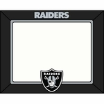 Raiders 2015 Art Glass 4x6 Frame