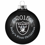 Raiders 2015 Baby's First Christmas