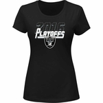 Raiders 2016 Women's Contender Playoff Tee