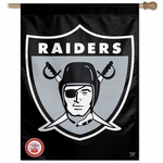 Raiders 27 Inch 1963 Logo Vertical Flag
